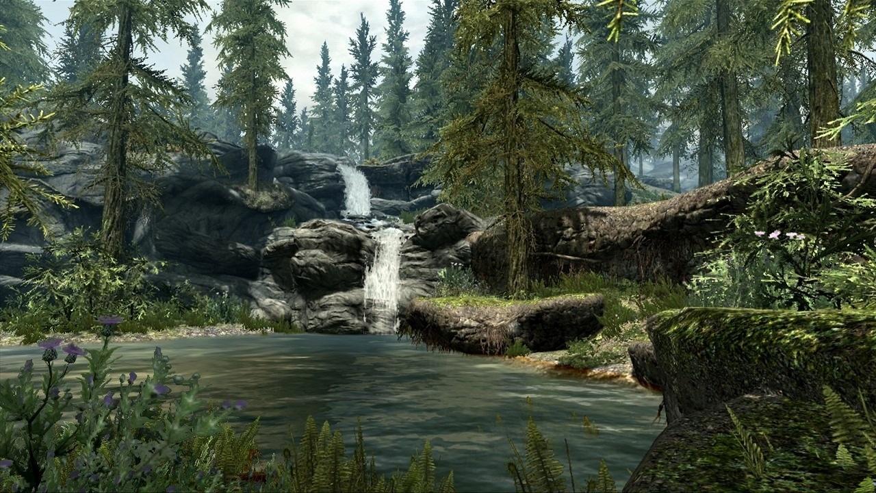 Landscape in Skyrim